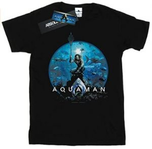 Camiseta de pose de Aquaman - Las mejores camisetas de Aquaman - Camiseta de Aquaman de DC