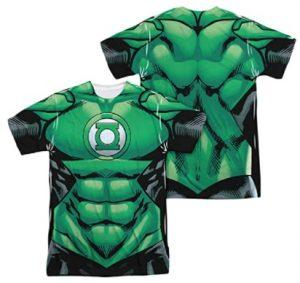 Camiseta de traje de Green Lantern - Las mejores camisetas de Green Lantern - Camiseta de Linterna Verde de DC