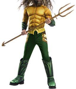 Disfraz de Aquaman para niños Multitalla - Los mejores disfraces de Aquaman - Disfraz de Aquaman de DC