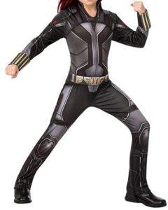 Disfraz de Black Widow para niñas Multitalla - Los mejores disfraces de Black Widow - Disfraz de Viuda Negra de Marvel