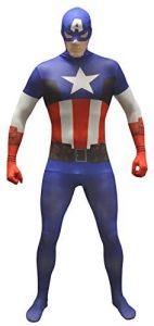 Disfraz de Capitán América para adultos Multitalla 4 - Los mejores disfraces de Capitán América - Disfraz de Capitán América de Marvel
