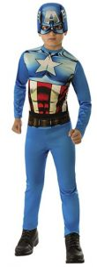 Disfraz de Capitán América para niños Multitalla 3 - Los mejores disfraces de Capitán América - Disfraz de Capitán América de Marvel