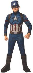 Disfraz de Capitán América para niños Multitalla 4 - Los mejores disfraces de Capitán América - Disfraz de Capitán América de Marvel