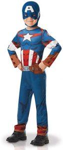 Disfraz de Capitán América para niños Multitalla 5 - Los mejores disfraces de Capitán América - Disfraz de Capitán América de Marvel