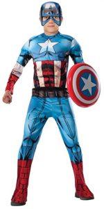 Disfraz de Capitán América para niños Multitalla 6 - Los mejores disfraces de Capitán América - Disfraz de Capitán América de Marvel