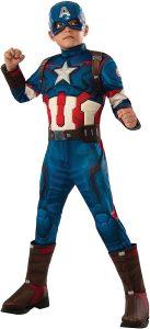 Disfraz de Capitán América para niños Multitalla 7 - Los mejores disfraces de Capitán América - Disfraz de Capitán América de Marvel
