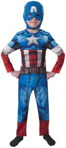 Disfraz de Capitán América para niños Multitalla 8 - Los mejores disfraces de Capitán América - Disfraz de Capitán América de Marvel