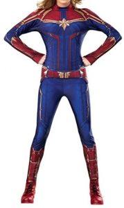Disfraz de Capitana Marvel para adultos Multitalla - Los mejores disfraces de Capitana Marvel - Disfraz de Carol Danvers de Marvel