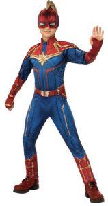 Disfraz de Capitana Marvel para niñas Multitalla 2 - Los mejores disfraces de Capitana Marvel - Disfraz de Carol Danvers de Marvel