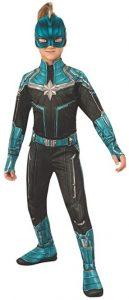 Disfraz de Capitana Marvel para niñas Multitalla 3 - Los mejores disfraces de Capitana Marvel - Disfraz de Carol Danvers de Marvel