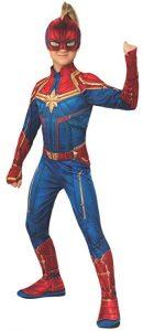 Disfraz de Capitana Marvel para niñas Multitalla - Los mejores disfraces de Capitana Marvel - Disfraz de Carol Danvers de MarvelDisfraz de Capitana Marvel para niñas Multitalla - Los mejores disfraces de Capitana Marvel - Disfraz de Carol Danvers de Marvel