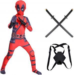 Disfraz de Deadpool para niños Multitalla 2 - Los mejores disfraces de Deadpool - Disfraz de Deadpool de Marvel