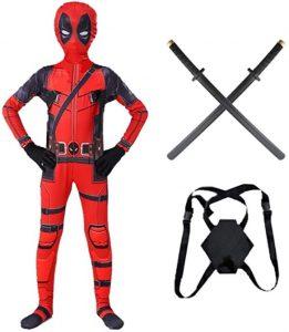 Disfraz de Deadpool para niños Multitalla 3 - Los mejores disfraces de Deadpool - Disfraz de Deadpool de Marvel