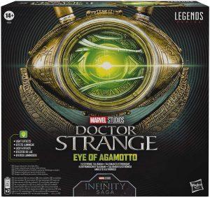 Disfraz de Doctor Strange - Collar del Ojo de Agamotto de Doctor Strange de Hasbro Legends