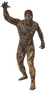 Disfraz de Erik Killmonger para adultos Talla única - Los mejores disfraces de Black Panther - Disfraz de Pantera Negra de Marvel