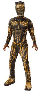 Disfraz de Erik Killmonger para niños Talla única - Los mejores disfraces de Black Panther - Disfraz de Pantera Negra de Marvel