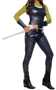 Disfraz de Gamora para adultos Multitalla - Los mejores disfraces de Gamora - Disfraz de Gamora de Marvel