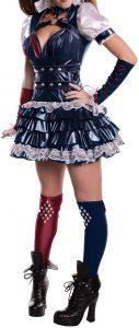 Disfraz de Harley Quinn Arkham para mujeres M - Los mejores disfraces de Harley Quinn - Disfraz de Harley Quinn de DC