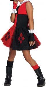 Disfraz de Harley Quinn Escuadrón Suicida para niñas 5-7 años - Los mejores disfraces de Harley Quinn - Disfraz de Harley Quinn de DC