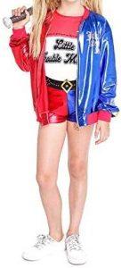Disfraz de Harley Quinn Escuadrón Suicida para niñas Multitalla - Los mejores disfraces de Harley Quinn - Disfraz de Harley Quinn de DC