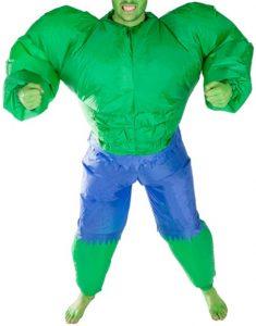 Disfraz de Hulk para adultos Multitalla Hinchable - Los mejores disfraces de Hulk - Disfraz de Hulk de Marvel