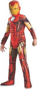 Disfraz de Iron man para 8-10 años - Los mejores disfraces de Iron man - Disfraz de Iron man de Marvel