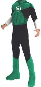 Disfraz de Linterna Verde para adultos Multitalla - Los mejores disfraces de Linterna Verde - Disfraz de Linterna Verde de DC
