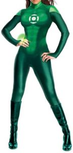 Disfraz de Linterna Verde para mujer Multitalla 2 - Los mejores disfraces de Linterna Verde - Disfraz de Linterna Verde de DC