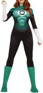 Disfraz de Linterna Verde para mujer Multitalla 3 - Los mejores disfraces de Linterna Verde - Disfraz de Linterna Verde de DC
