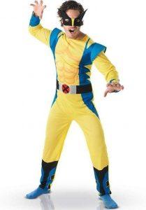 Disfraz de Lobezno para adultos Multitalla - Los mejores disfraces de Lobezno - Disfraz de Wolverine de Marvel
