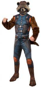 Disfraz de Rocket Raccoon para adultos Multitalla - Los mejores disfraces de Rocket Raccoon - Disfraz de Rocket Raccoon de Marvel