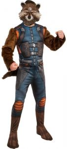 Disfraz de Rocket Raccoon para adultos Talla única - Los mejores disfraces de Rocket Raccoon - Disfraz de Rocket Raccoon de Marvel