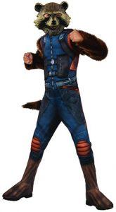 Disfraz de Rocket Raccoon para niños Multitalla 3 - Los mejores disfraces de Rocket Raccoon - Disfraz de Rocket Raccoon de Marvel
