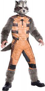 Disfraz de Rocket Raccoon para niños Multitalla 4 - Los mejores disfraces de Rocket Raccoon - Disfraz de Rocket Raccoon de Marvel