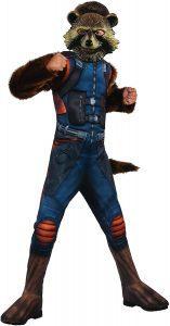 Disfraz de Rocket Raccoon para niños Multitalla - Los mejores disfraces de Rocket Raccoon - Disfraz de Rocket Raccoon de Marvel