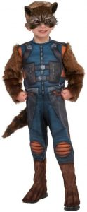 Disfraz de Rocket Raccoon para niños Talla única - Los mejores disfraces de Rocket Raccoon - Disfraz de Rocket Raccoon de Marvel