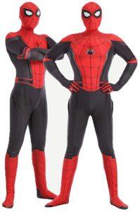Disfraz de Spider-man para adultos Multitalla 3 - Los mejores disfraces de Spider-man - Disfraz de Spider-man de Marvel