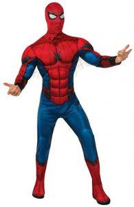 Disfraz de Spider-man para adultos Multitalla 4 - Los mejores disfraces de Spider-man - Disfraz de Spider-man de Marvel