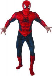 Disfraz de Spider-man para adultos Multitalla - Los mejores disfraces de Spider-man - Disfraz de Spider-man de Marvel
