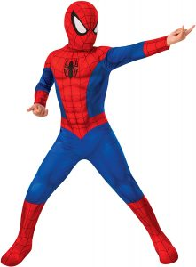 Disfraz de Spider-man para niños Multitalla - Los mejores disfraces de Spider-man - Disfraz de Spider-man de Marvel