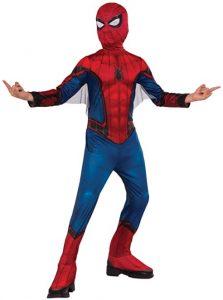 Disfraz de Spider-man para niños Talla 6-8 años - Los mejores disfraces de Spider-man - Disfraz de Spider-man de Marvel