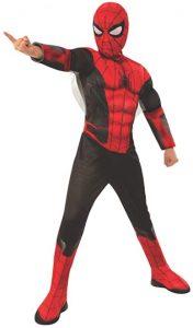 Disfraz de Spider-man para niños Talla única - Los mejores disfraces de Spider-man - Disfraz de Spider-man de Marvel