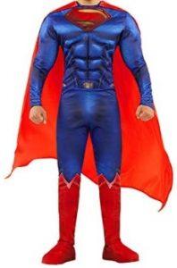 Disfraz de Superman adulto multitalla Justice League - Los mejores disfraces de Superman - Disfraz de Superman de DC