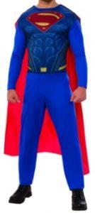 Disfraz de Superman adulto multitalla clásico - Los mejores disfraces de Superman - Disfraz de Superman de DC