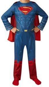 Disfraz de Superman para niños 3-4 años Justice League - Los mejores disfraces de Superman - Disfraz de Superman de DC