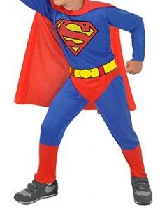Disfraz de Superman para niños 3-4 años clásico - Los mejores disfraces de Superman - Disfraz de Superman de DC