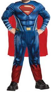 Disfraz de Superman para niños 3-4 años fuerte - Los mejores disfraces de Superman - Disfraz de Superman de DC