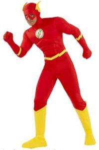 Disfraz de The Flash para adultos Multitalla 4 - Los mejores disfraces de The Flash - Disfraz de The Flash de DC