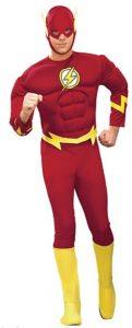 Disfraz de The Flash para adultos Multitalla - Los mejores disfraces de The Flash - Disfraz de The Flash de DC