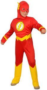 Disfraz de The Flash para niños 5-6 años 2 - Los mejores disfraces de The Flash - Disfraz de The Flash de DC